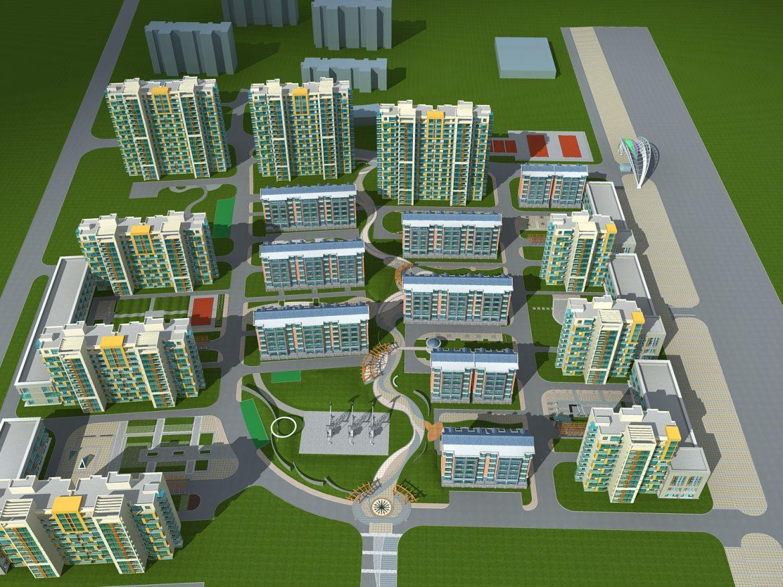 architecture 761 3d model max 146962
