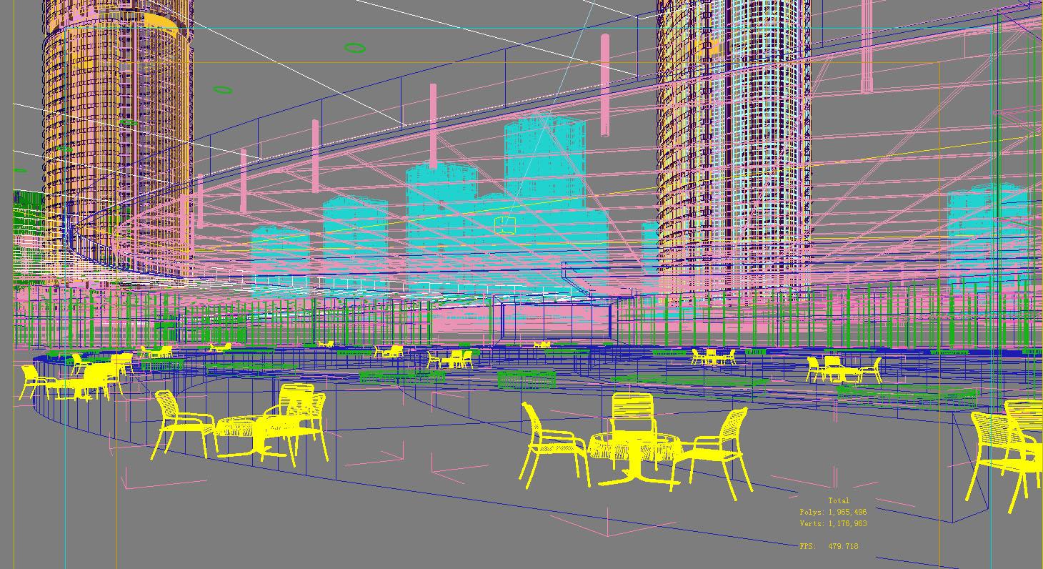 architecture 764 3d model max 146969