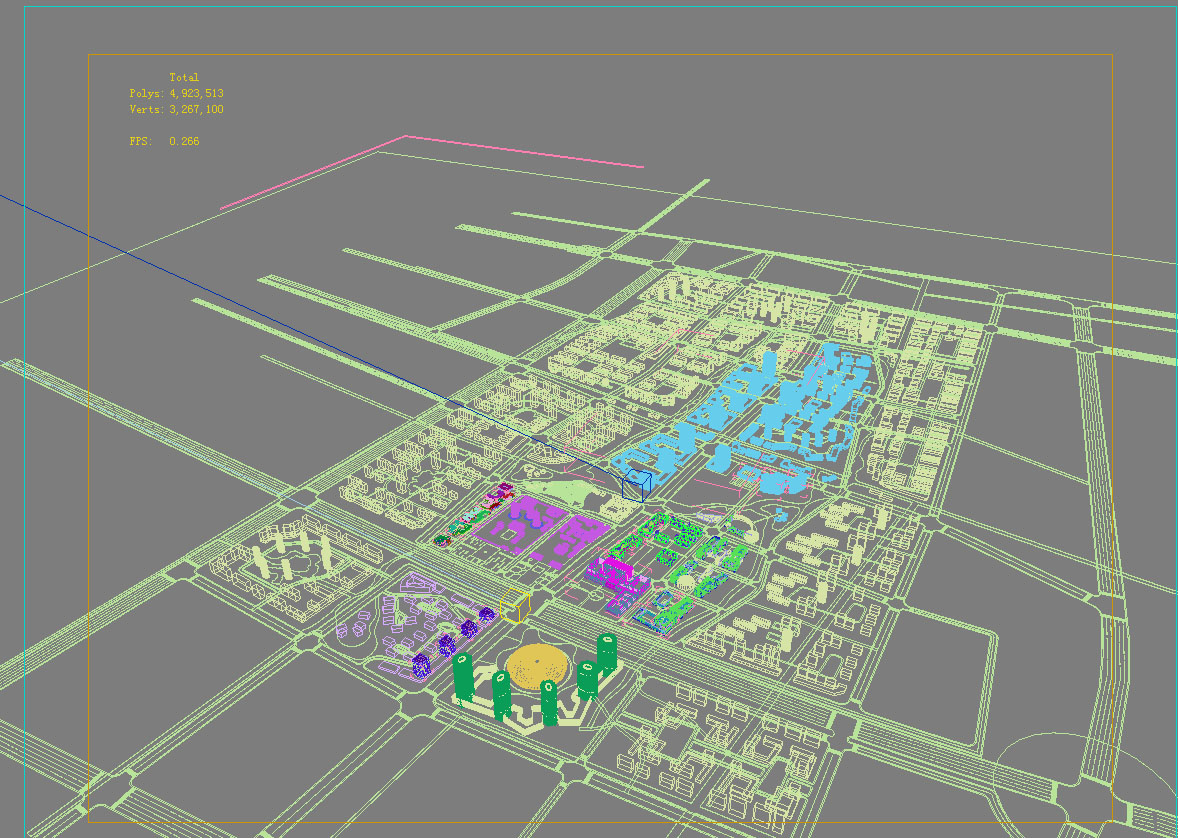 architecture 767 3d model max 146976