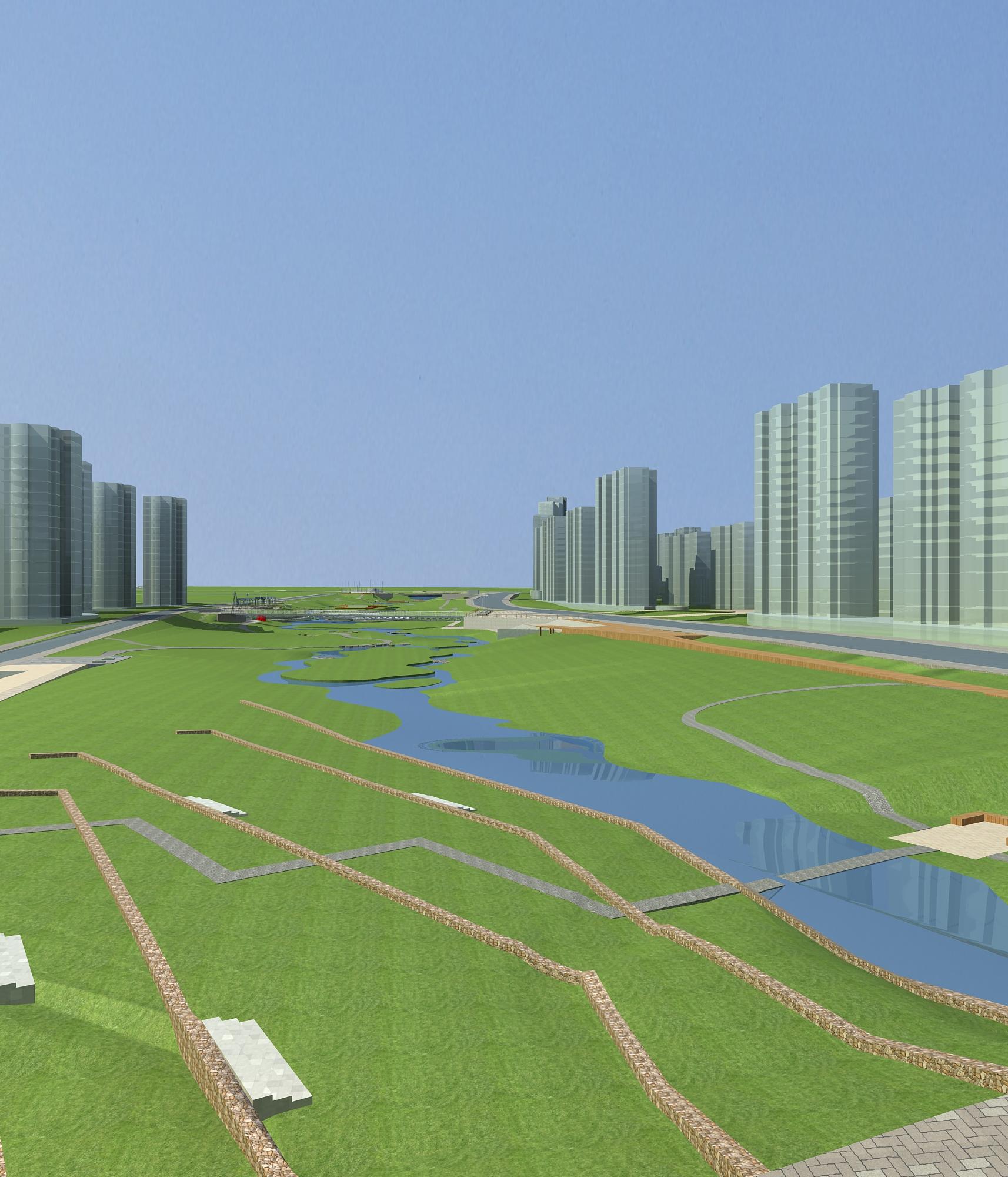 architecture 768 3d model max 146978