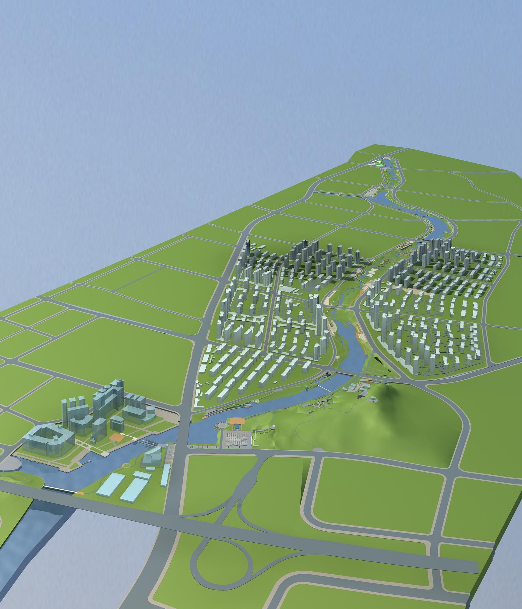architecture 768 3d model max 146979