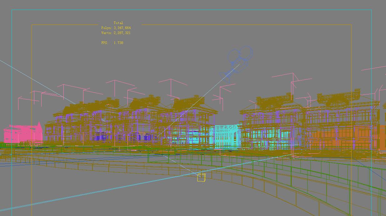 architecture 772 3d model max 146992