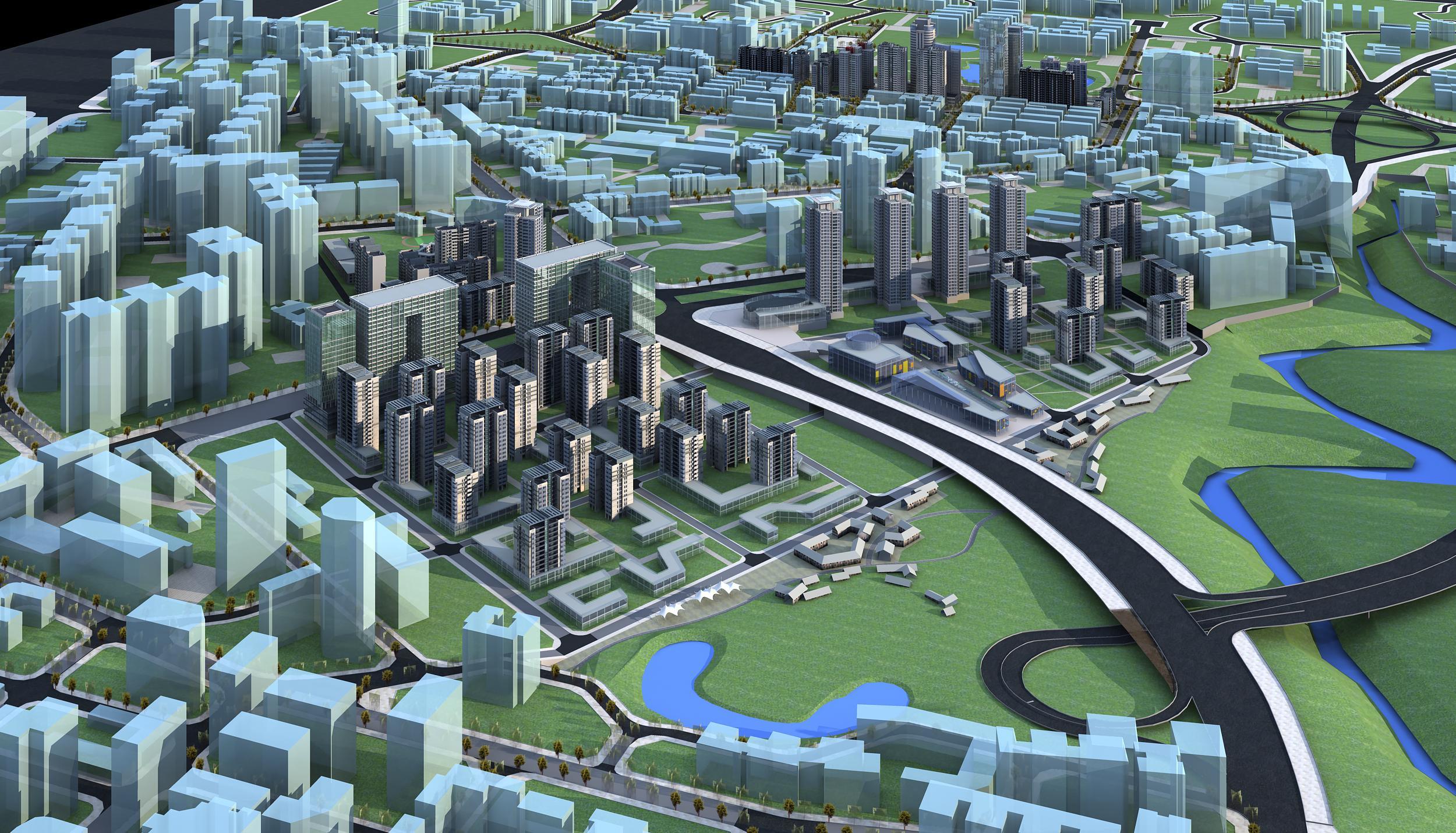 architecture 775 3d model max 146998
