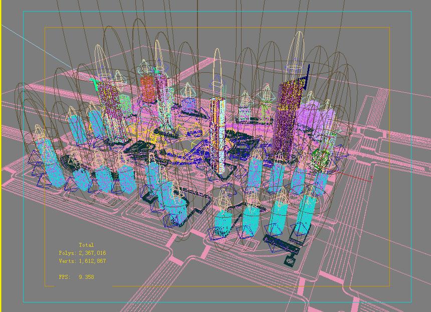 architecture 777 3d model max 147002