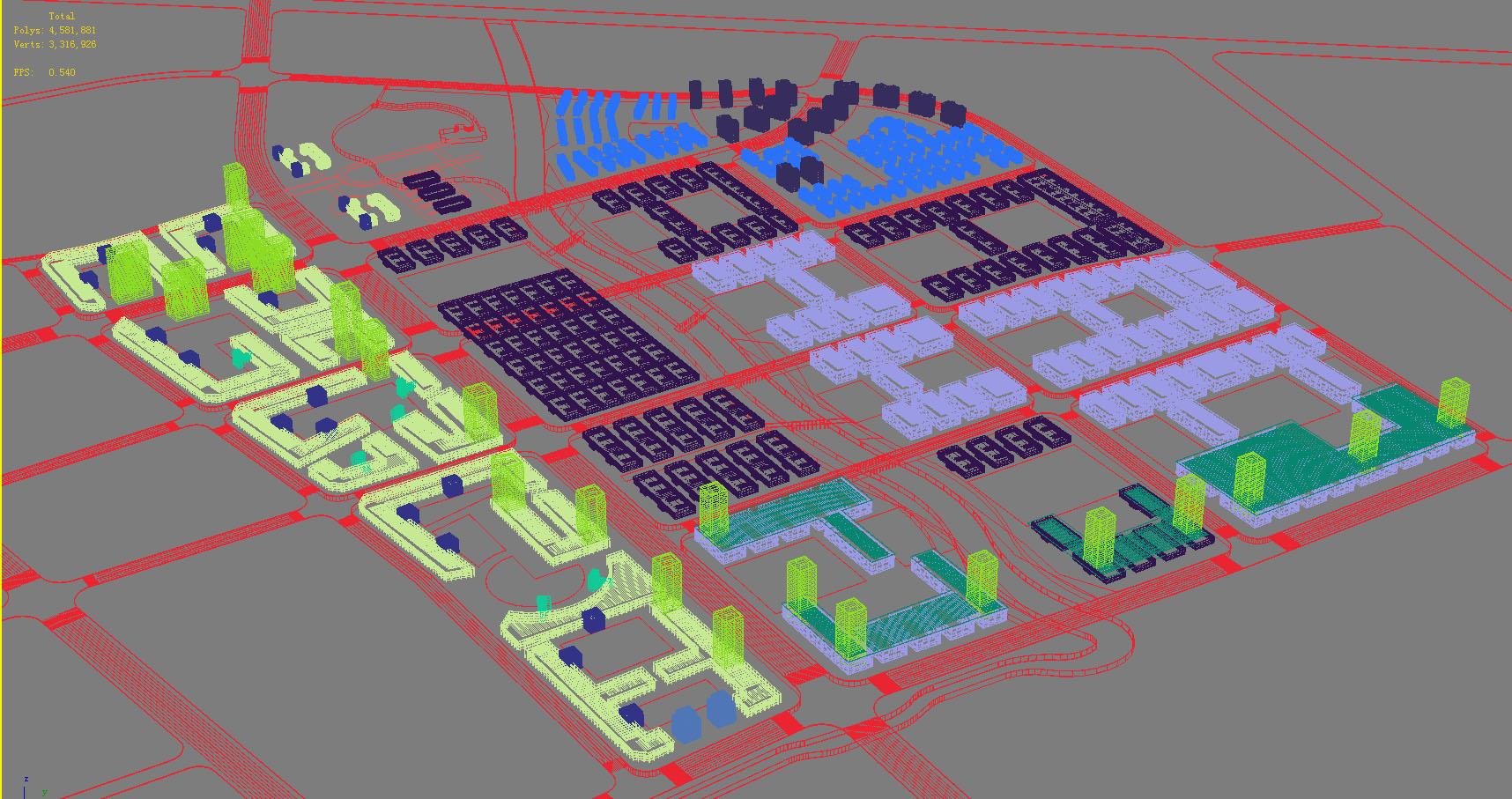 architecture 780 3d model max 147091