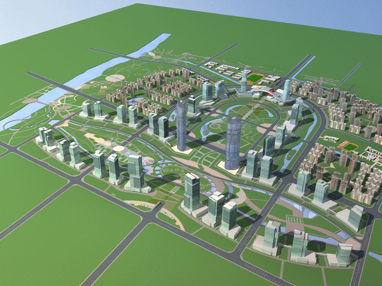 architecture 781 3d model max 147092