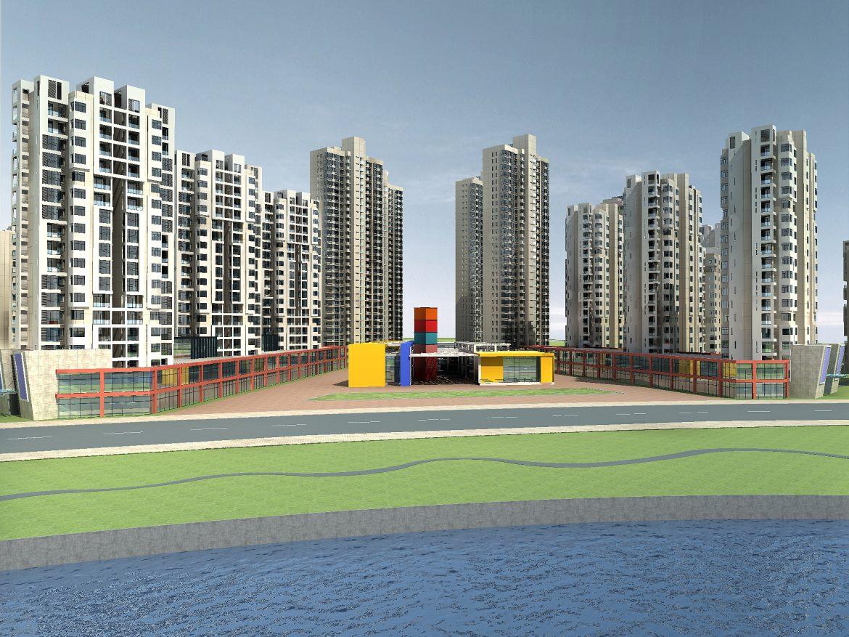 architecture 790 3d model max 147124