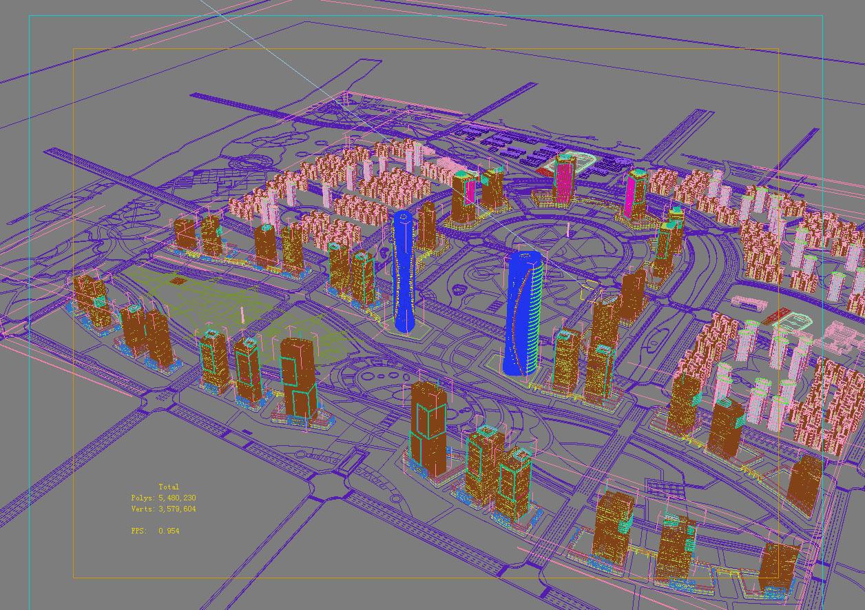 architecture 791 3d model max 147131