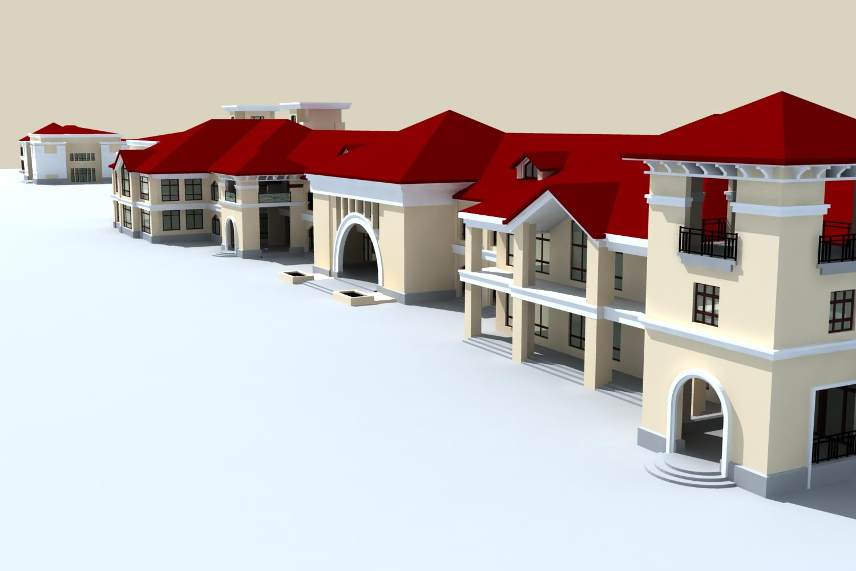 architecture 796 3d model max 147257