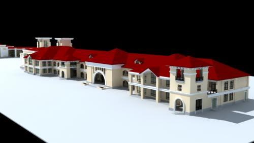 architecture 796 3d model max 147259