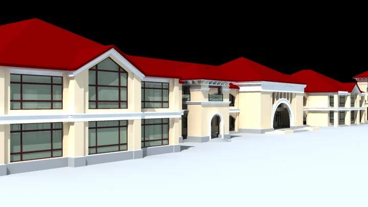 architecture 796 3d model max 147261