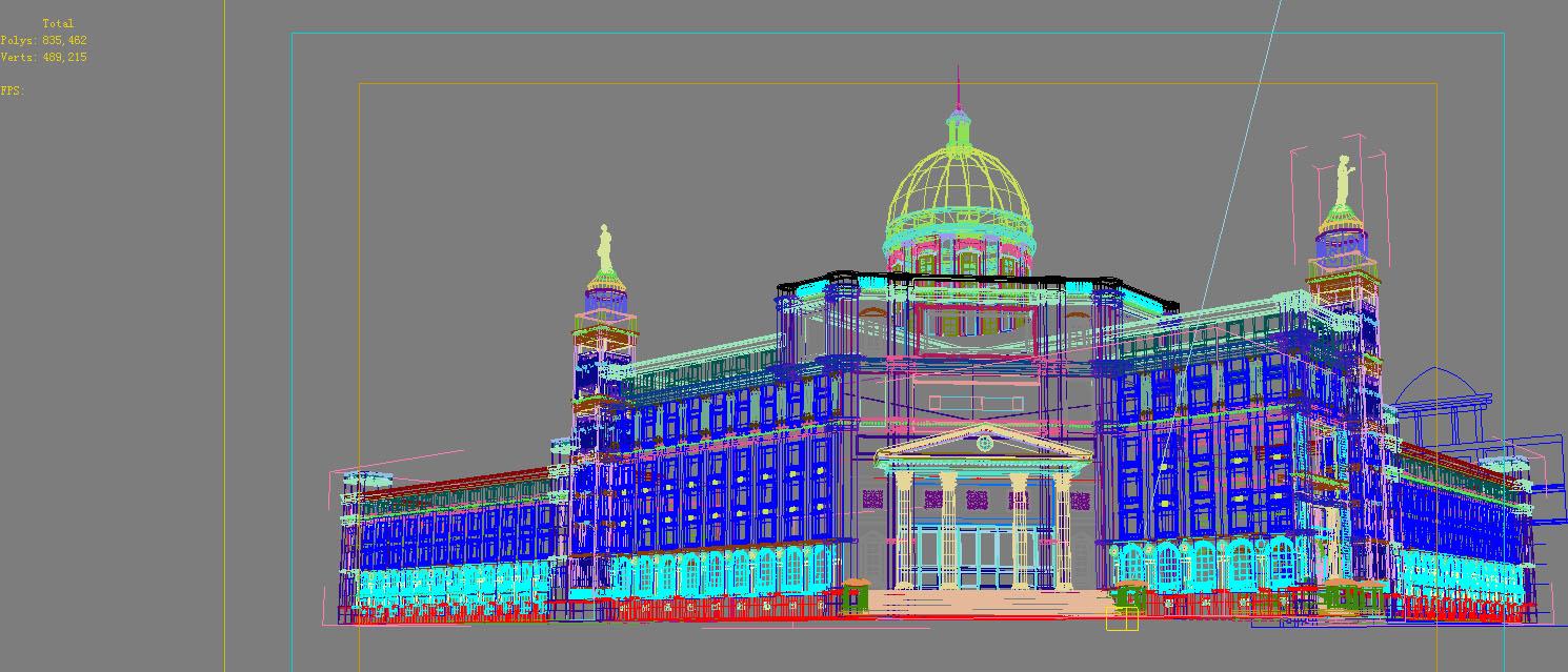 architecture 799 3d model max 147268