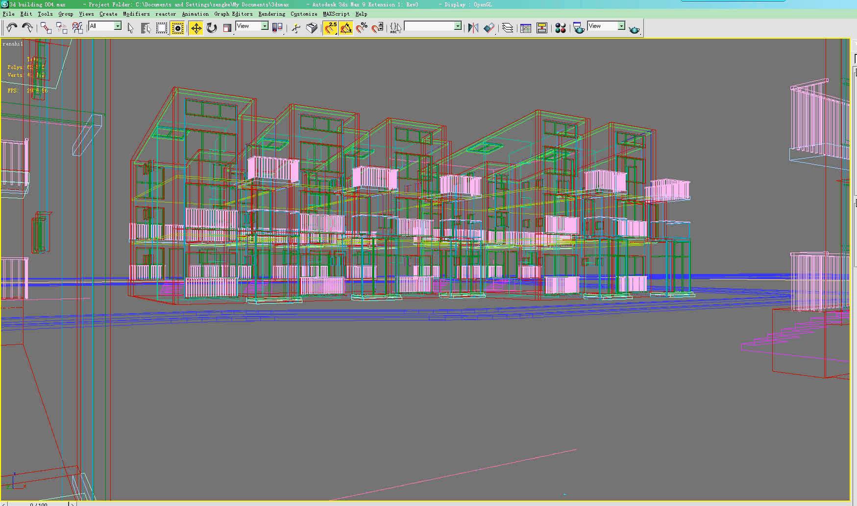 building 004 3d model max 121700