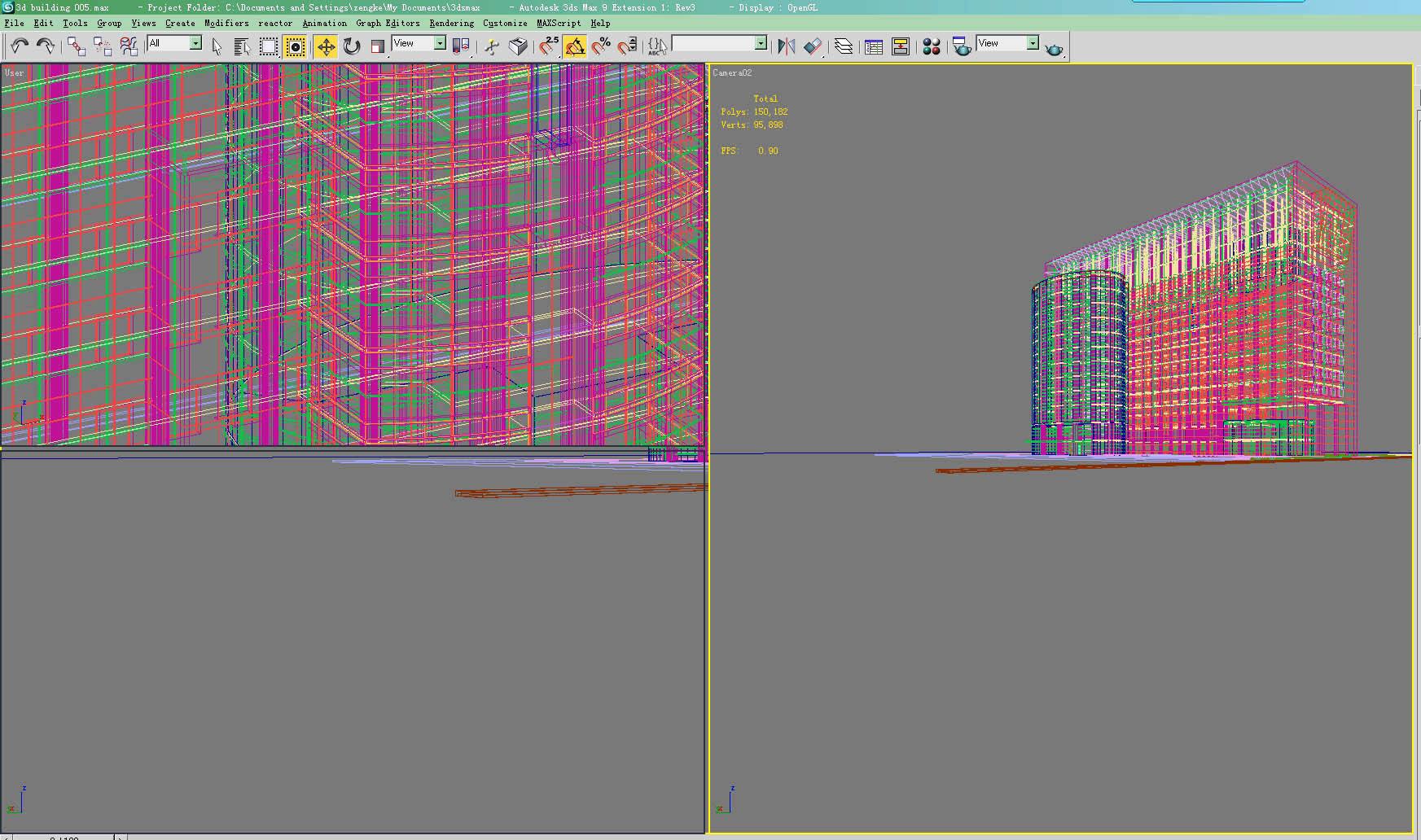 building 005 3d model max 122889