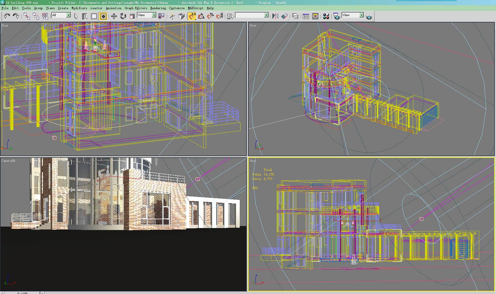 building 009 3d model max 122938
