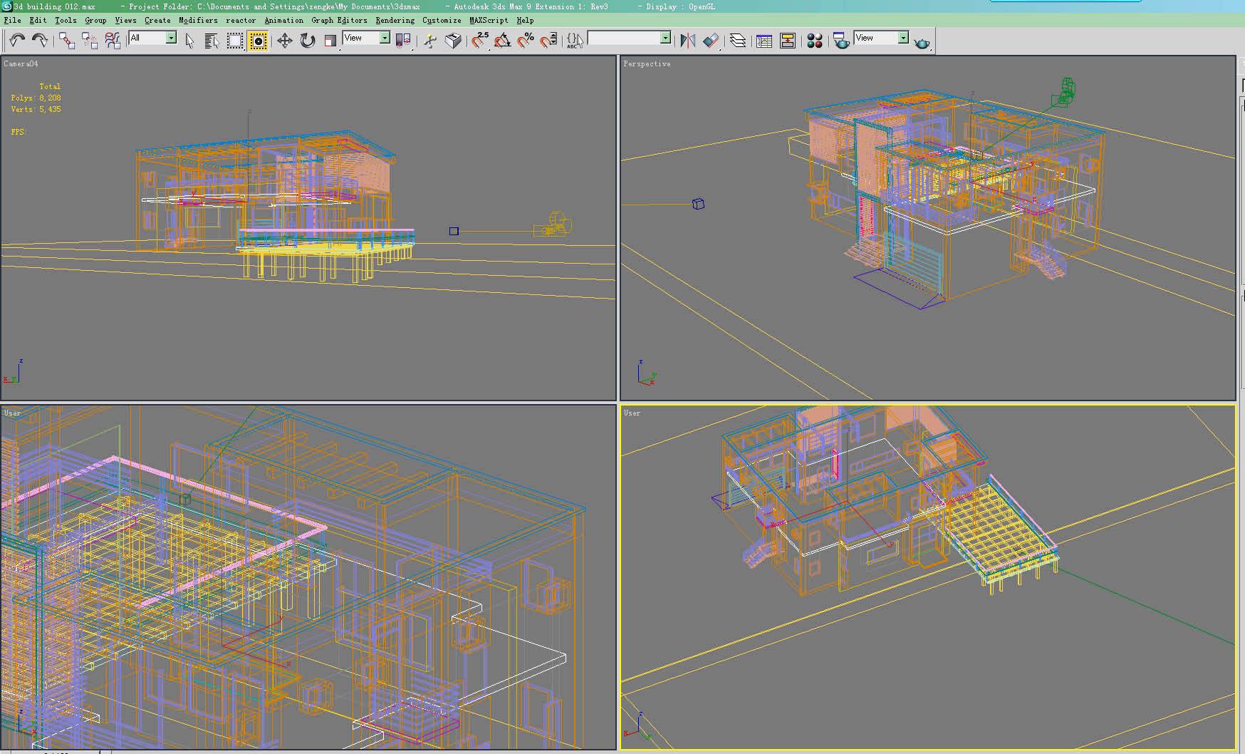عمارت 012 3D ماڈل زیادہ سے زیادہ 123125