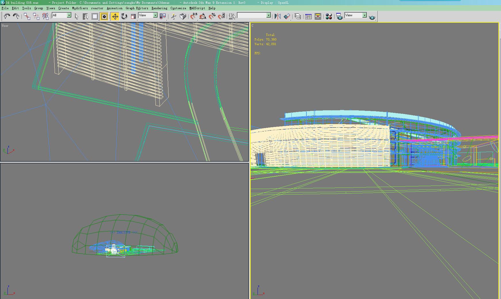building 016 3d model max 123141
