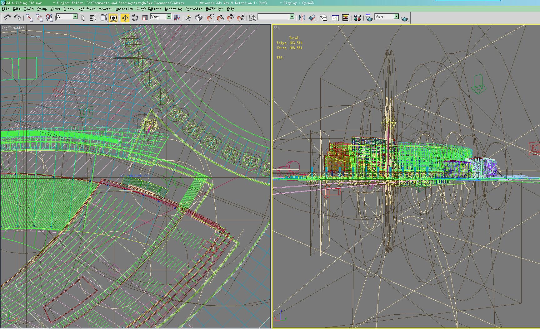 building 018 3d model max 123149