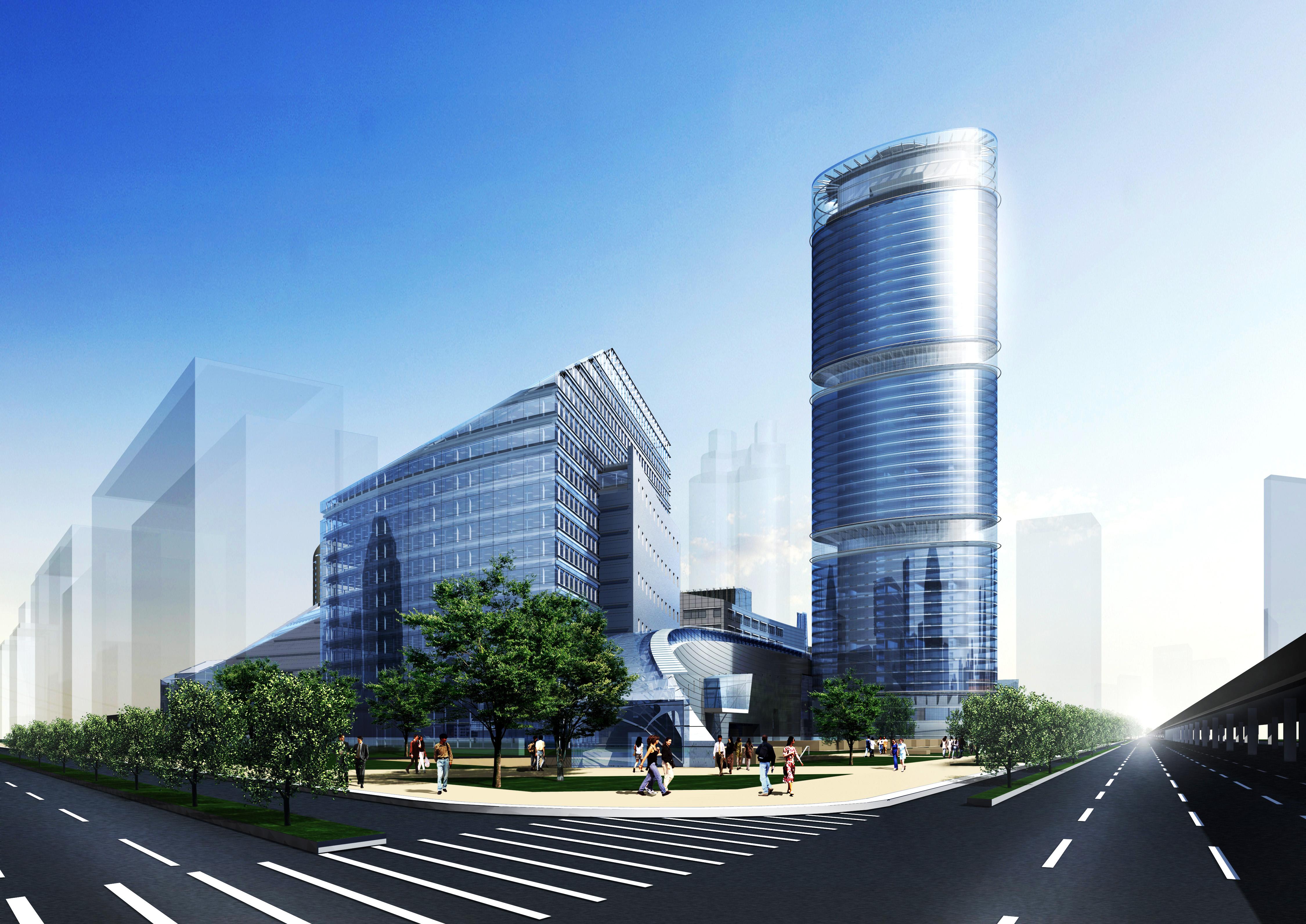 020 3d model max 123154 binası