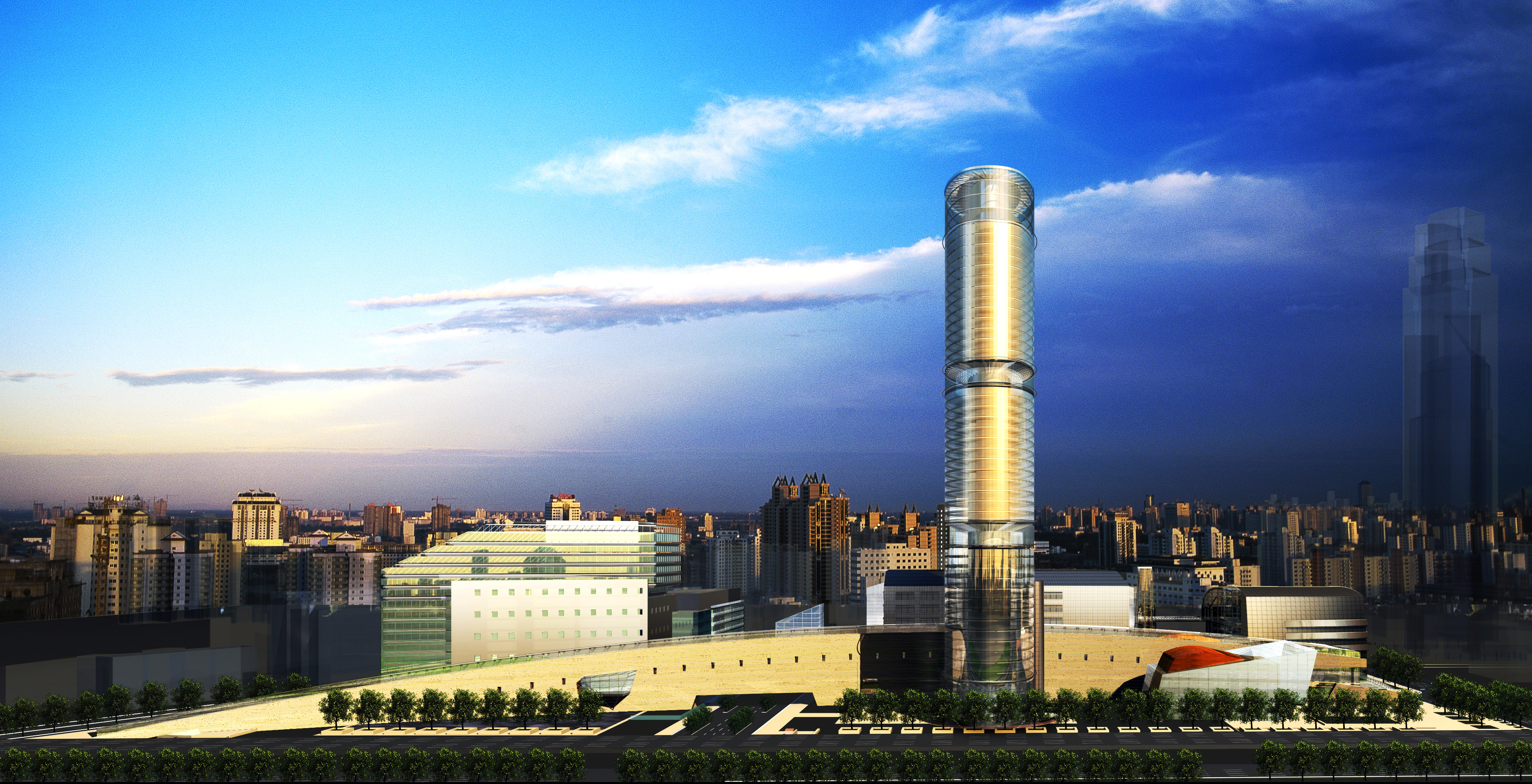 020 3d model max 123155 binası