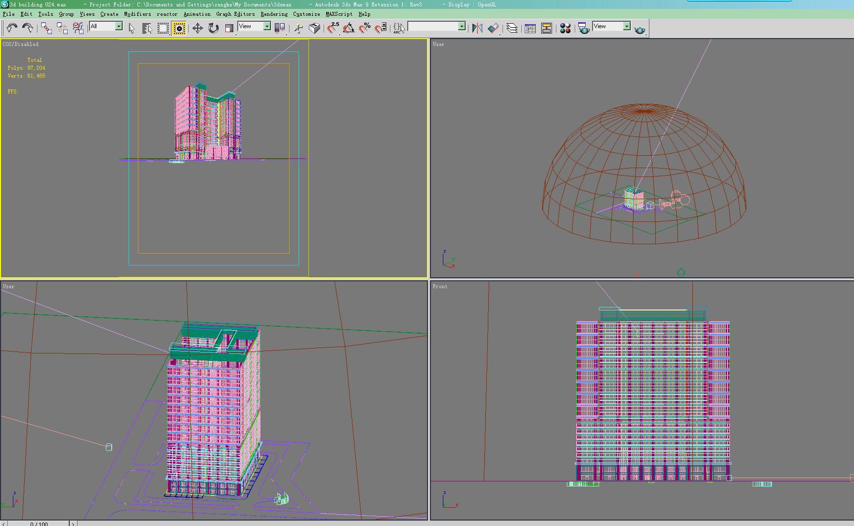 building 024 3d model max 123172