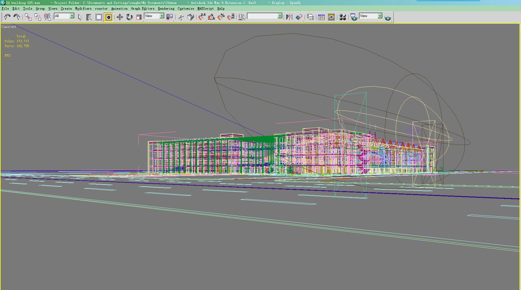building 025 3d model max 123174