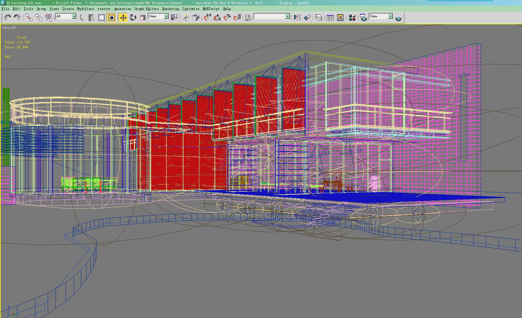 building 031 3d model max 123206