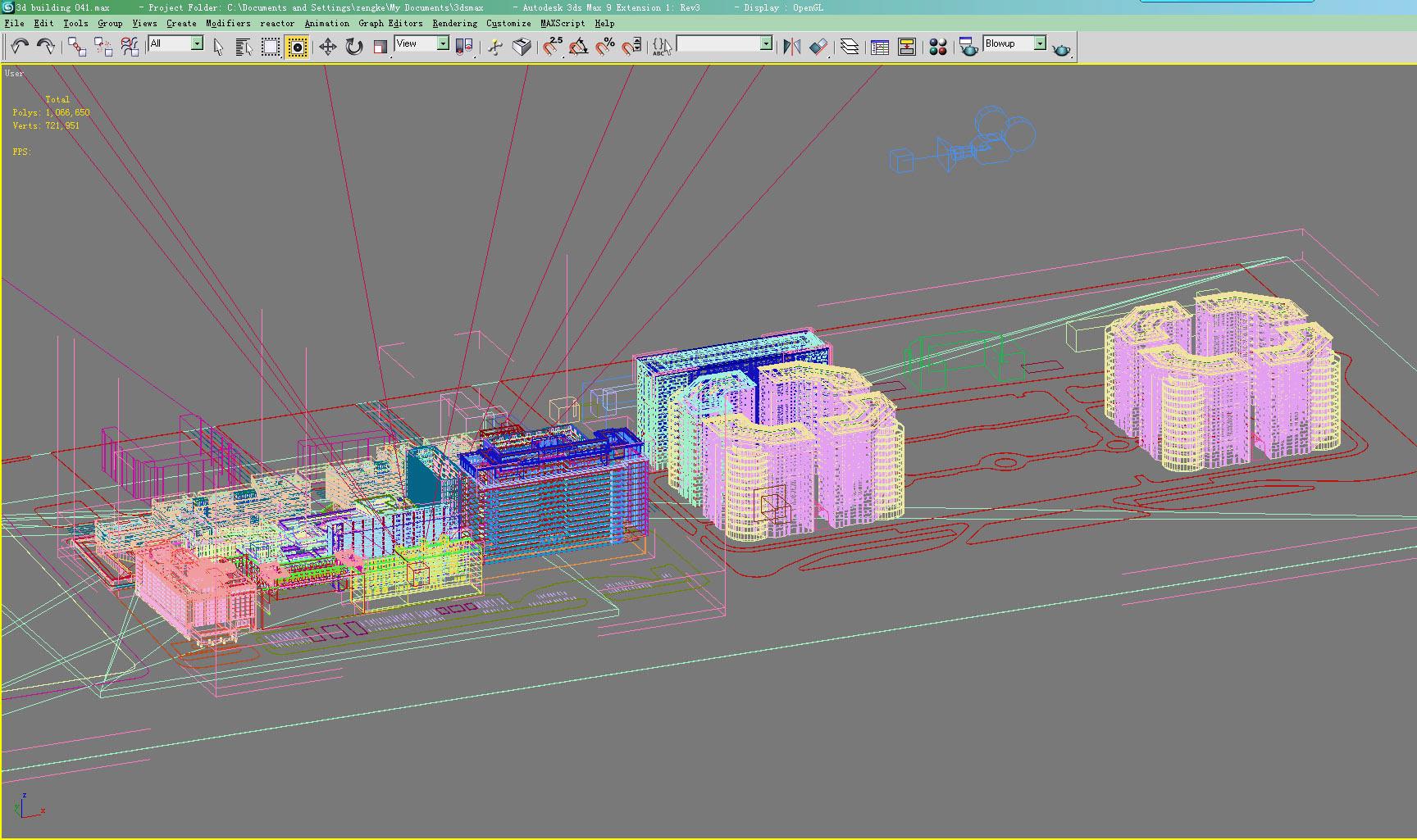 building 041 3d model max 125957