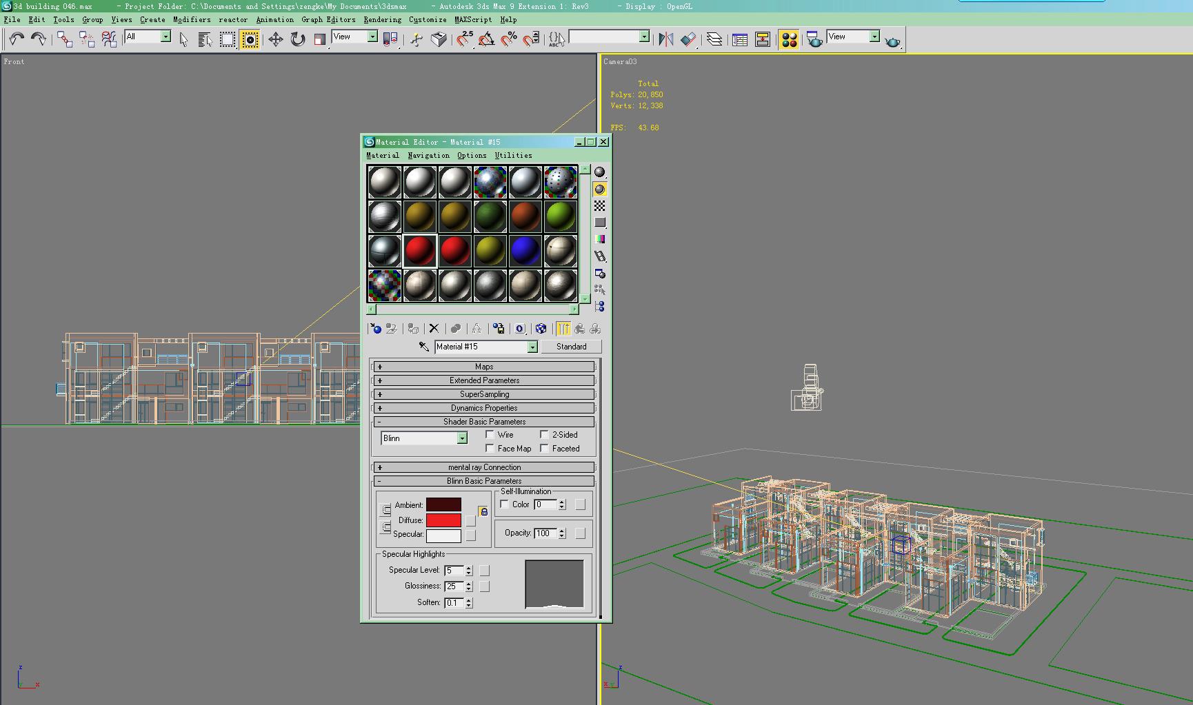 building 046 3d model max 125978