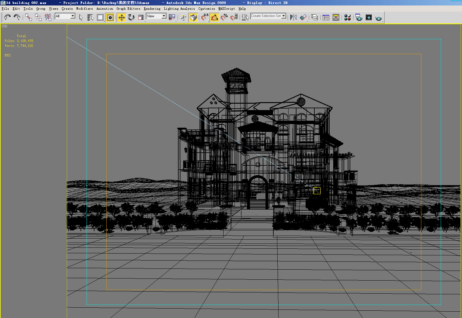 building 124 3d model max 127815