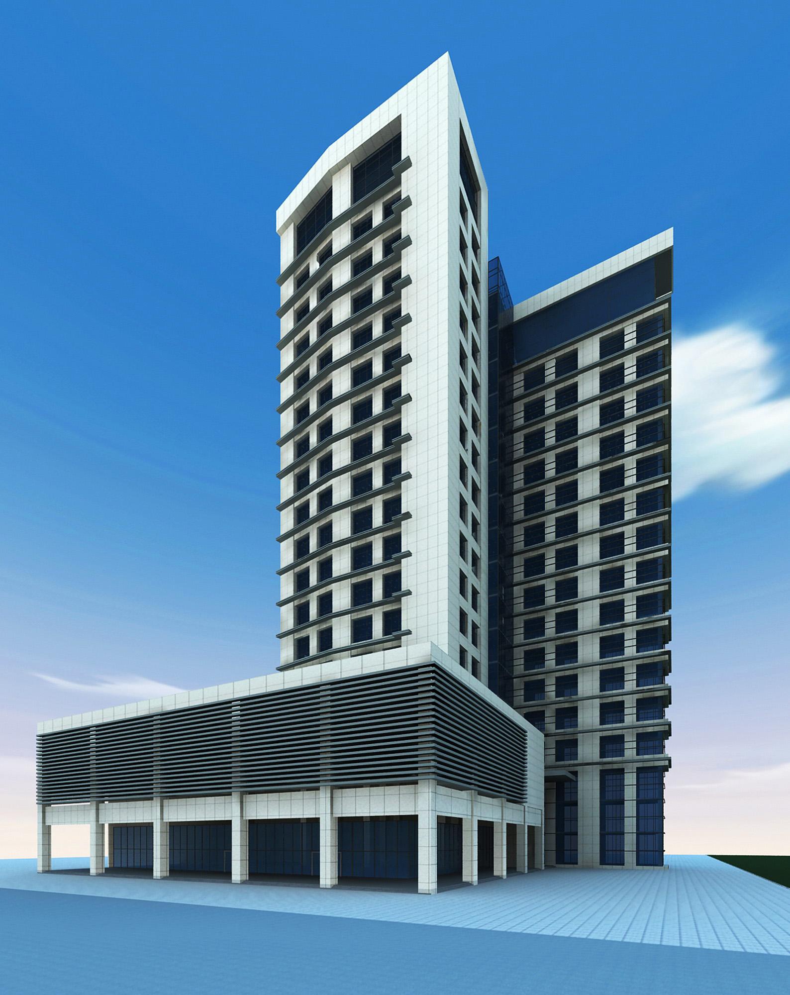 building 125 3d model max 127810