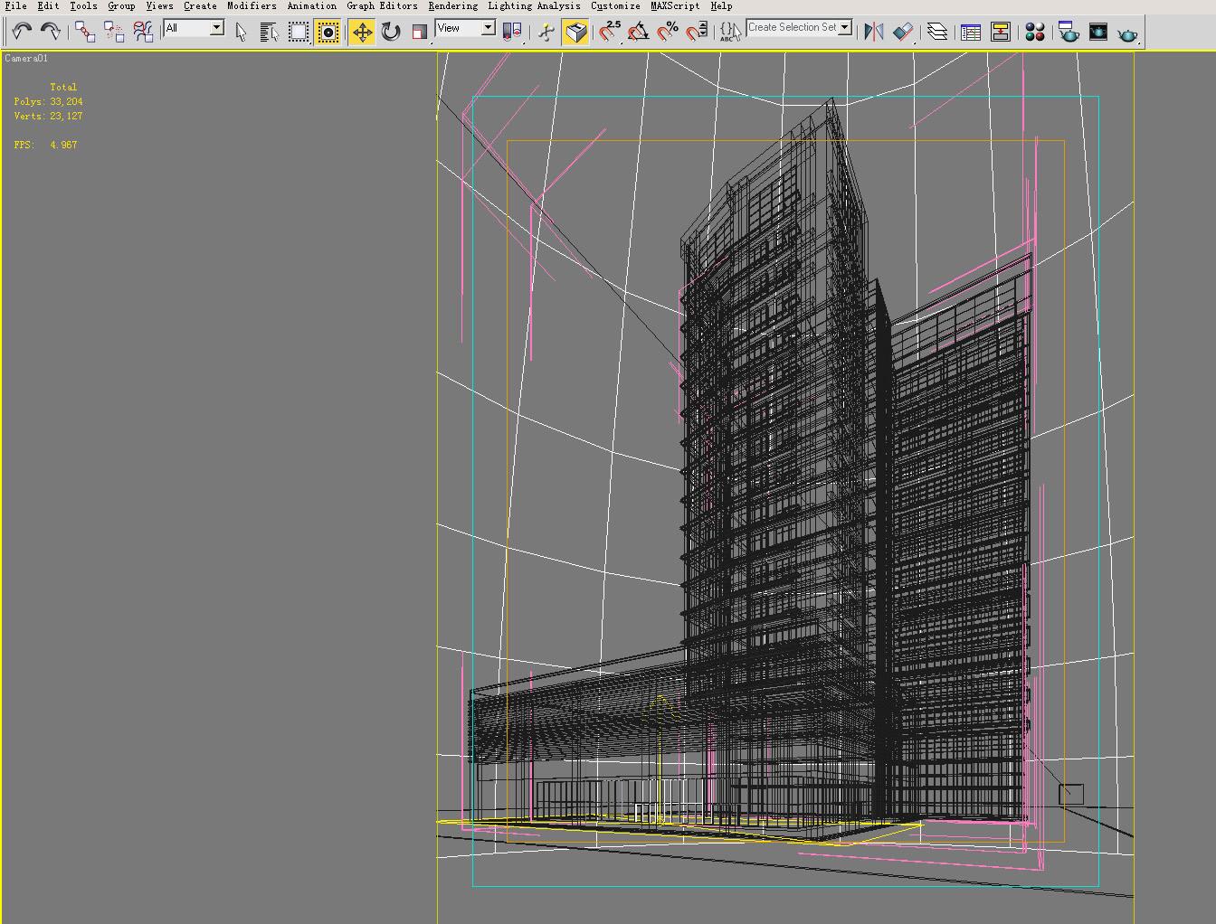 building 125 3d model max 127811