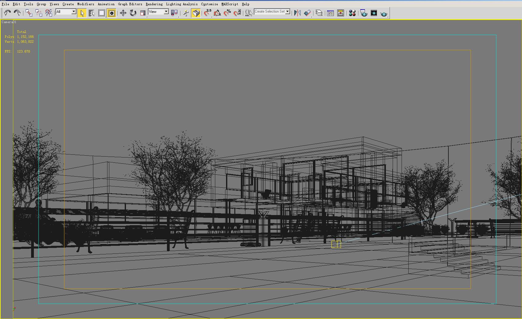 building 126 3d model max 127808