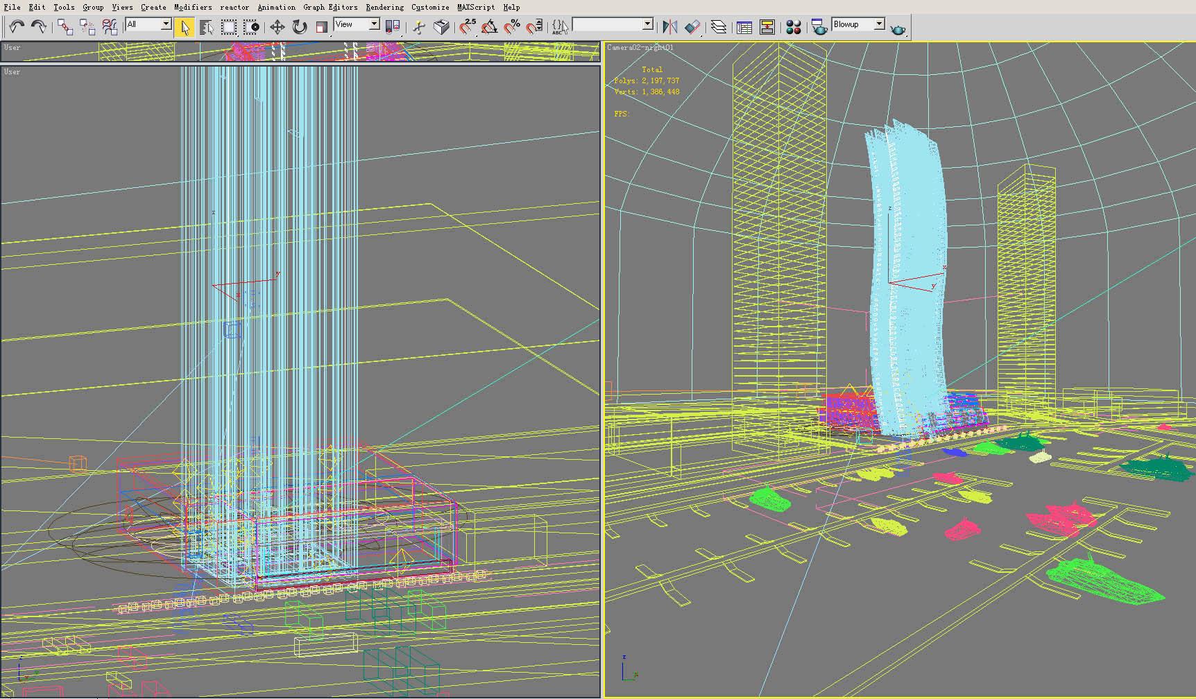 building 128 3d model max 127804