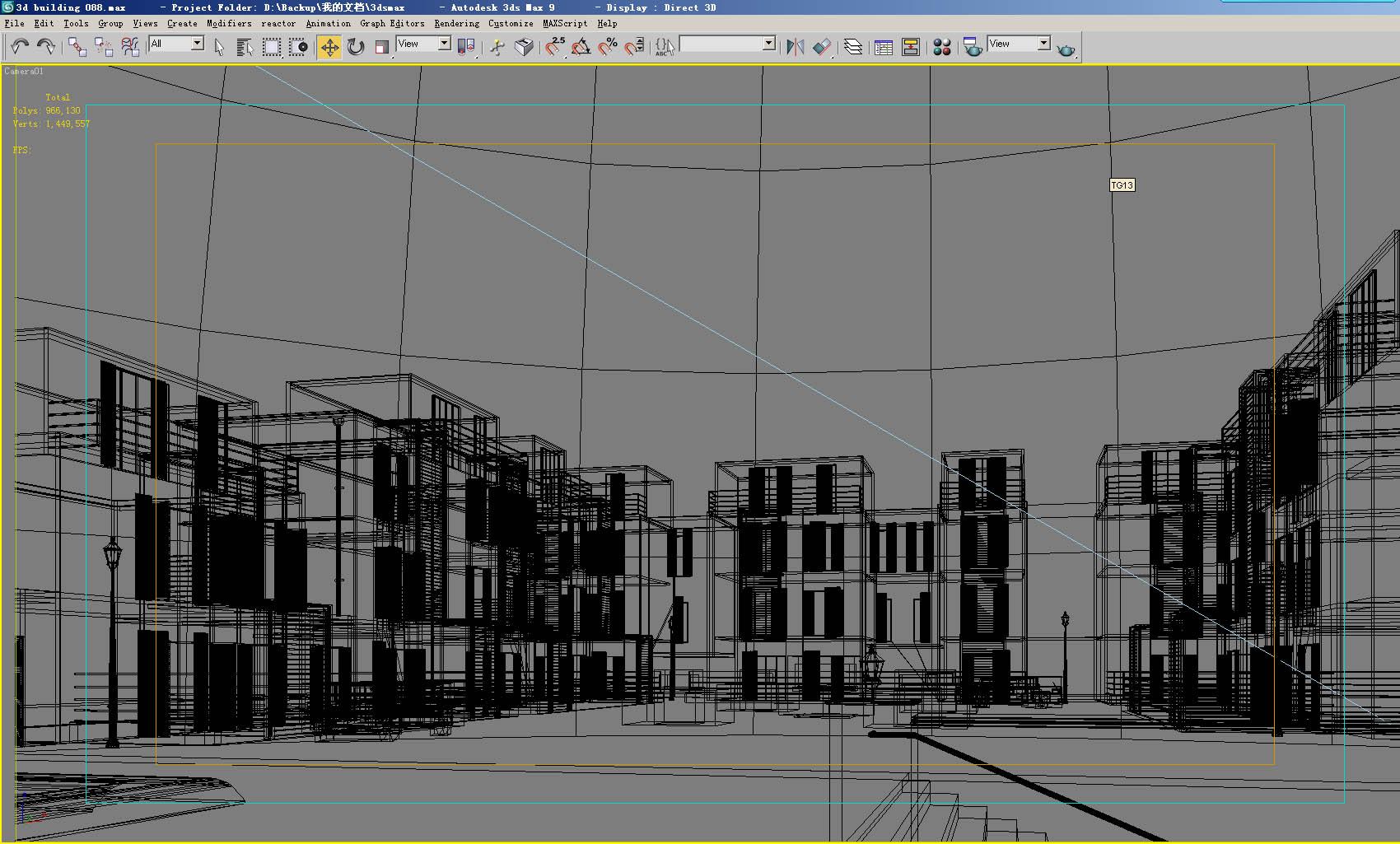 building 130 3d model max 127797