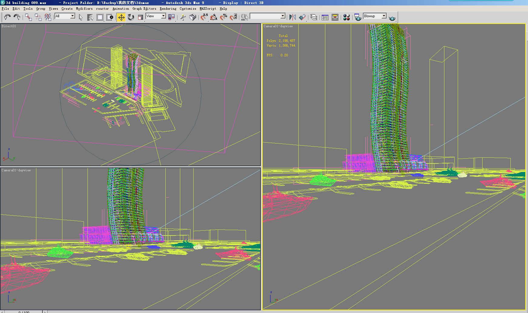 building 131 3d model max 127795