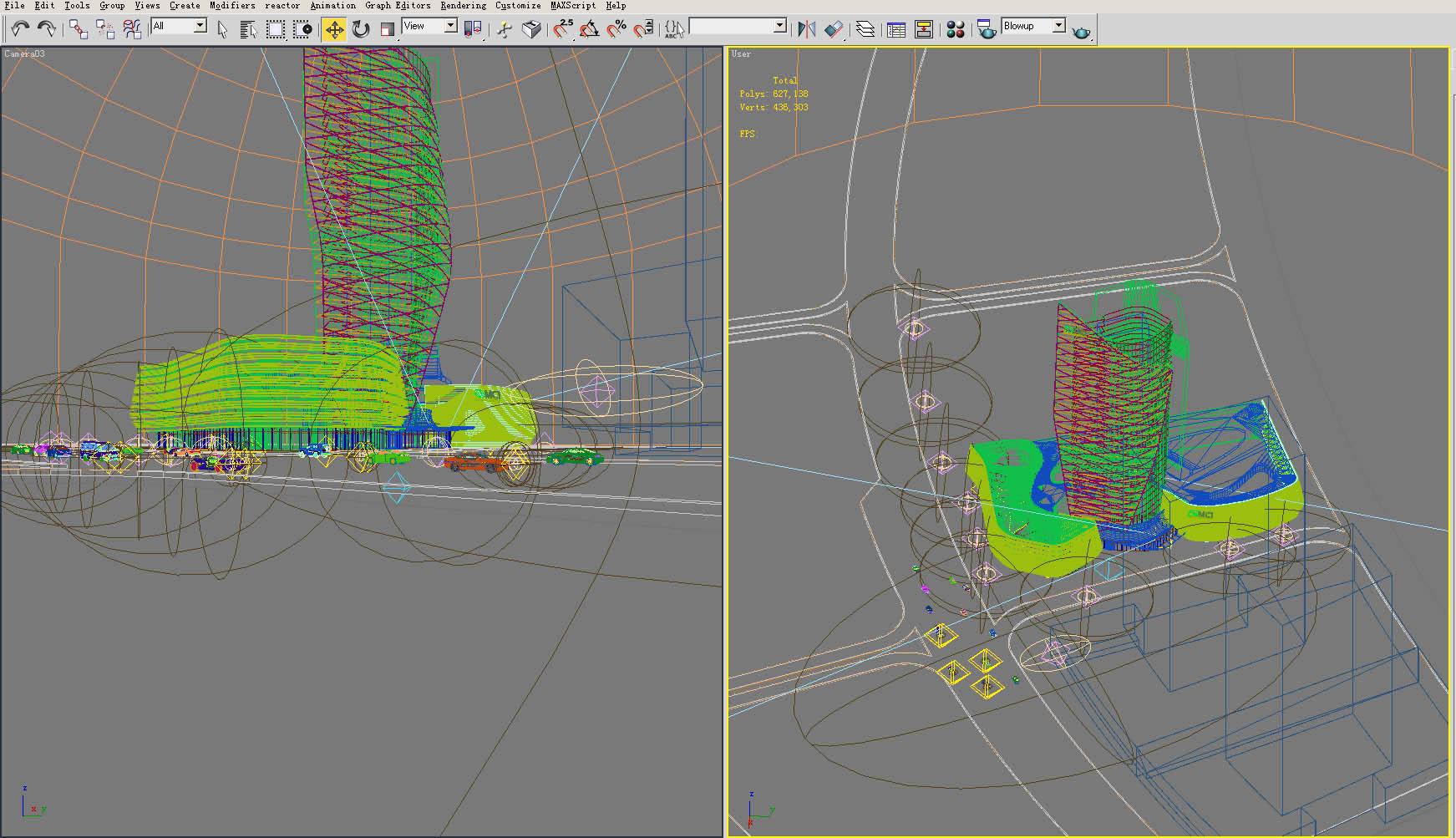building 134 3d model max 127788