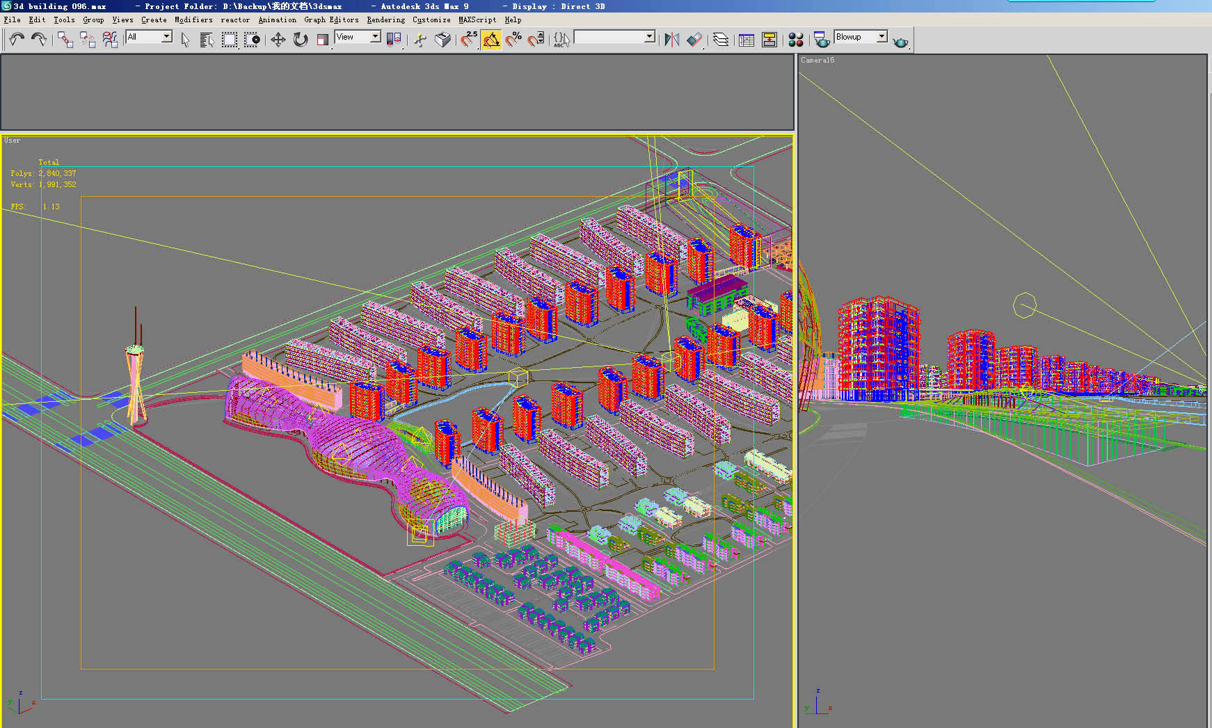building 138 3d model max 127780