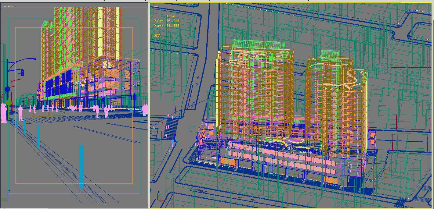 154 3d model max 127721 binası