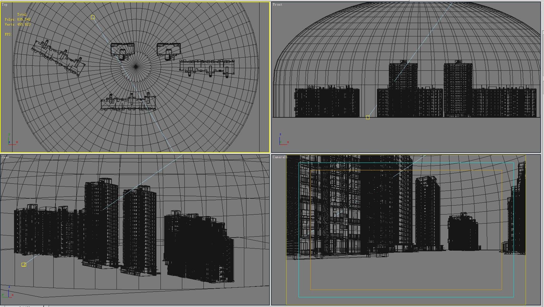 building 162 3d model max 127693
