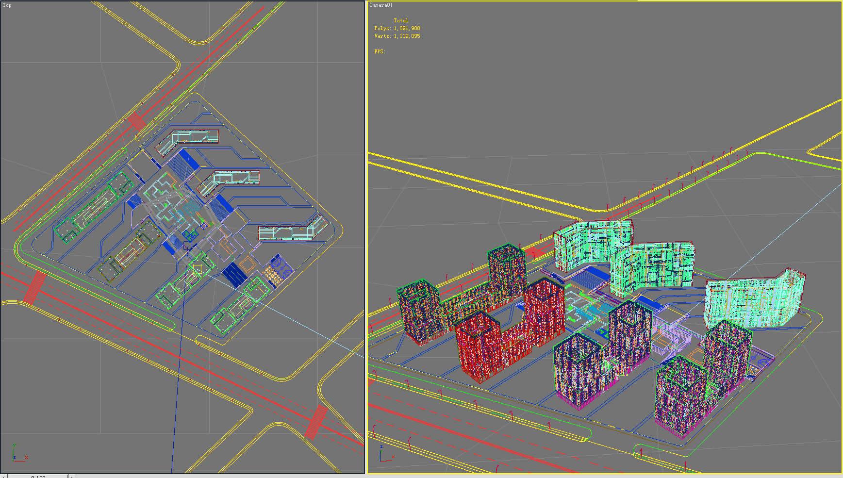 building 171 3d model max 127661