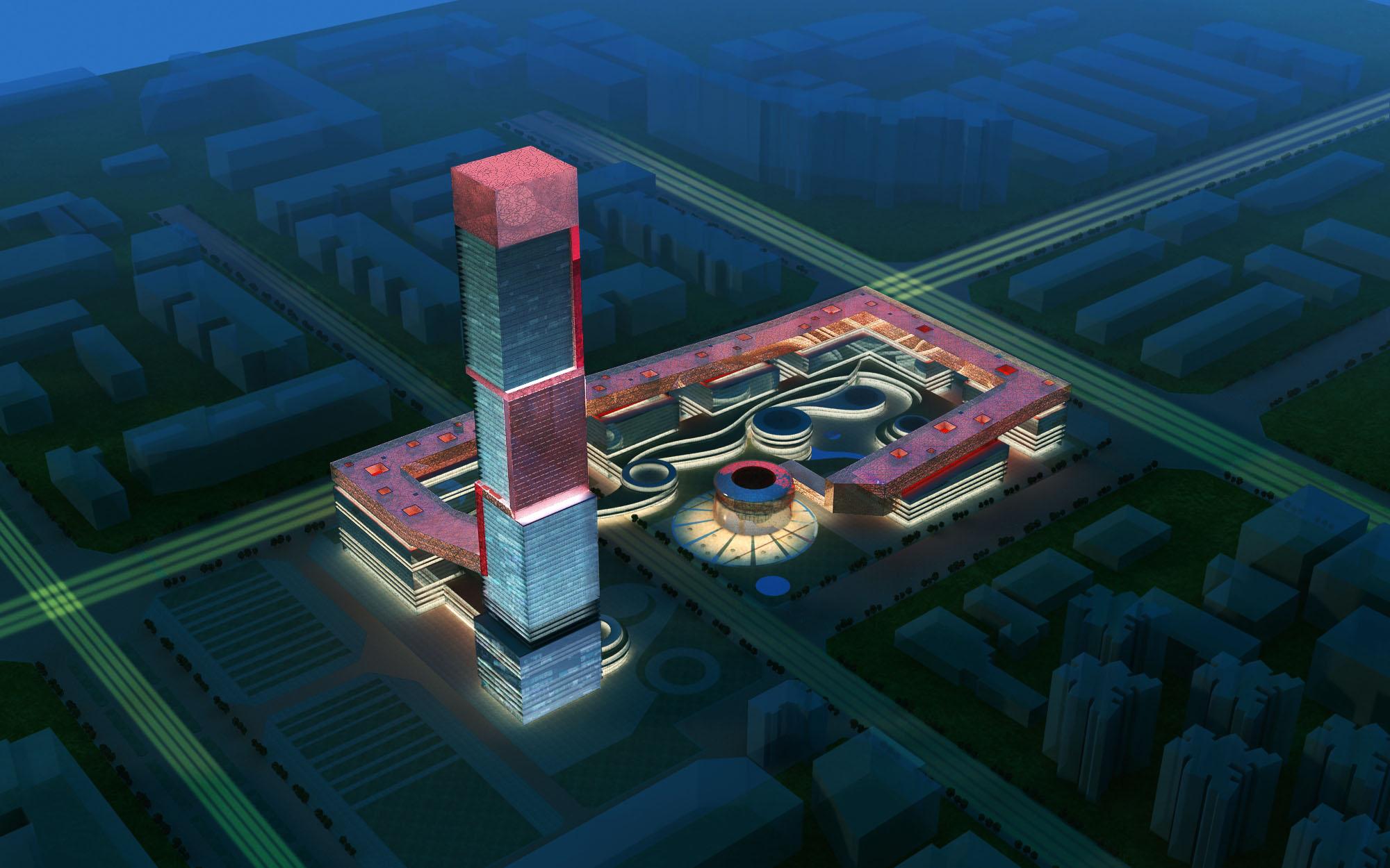 building 179 3d model max 127638
