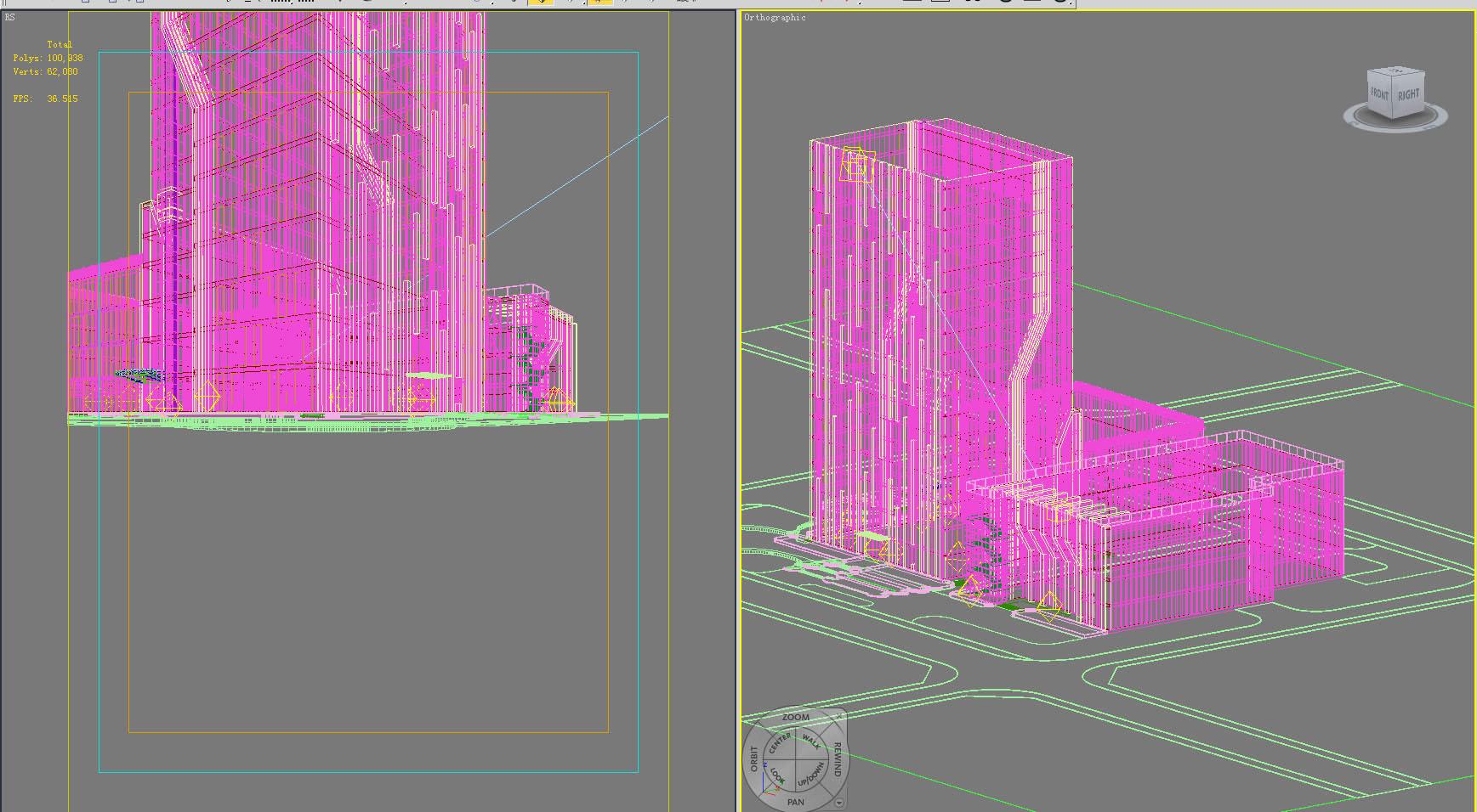 building 201 3d model max 127592