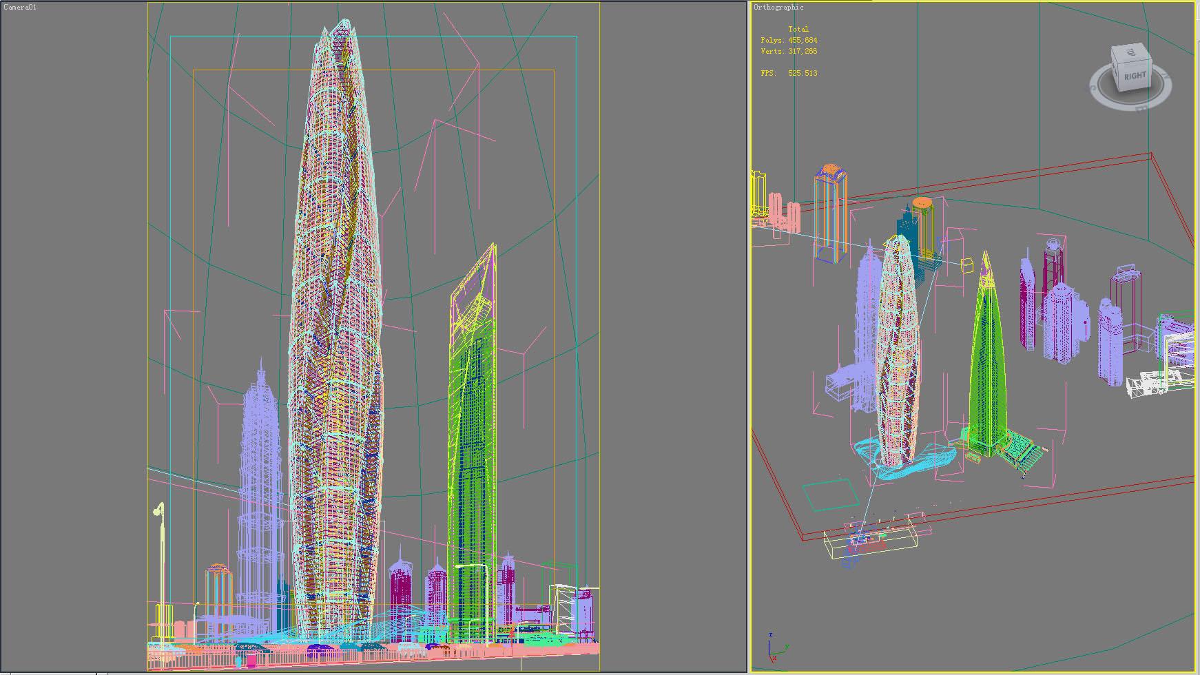 building 214 3d model max 127557