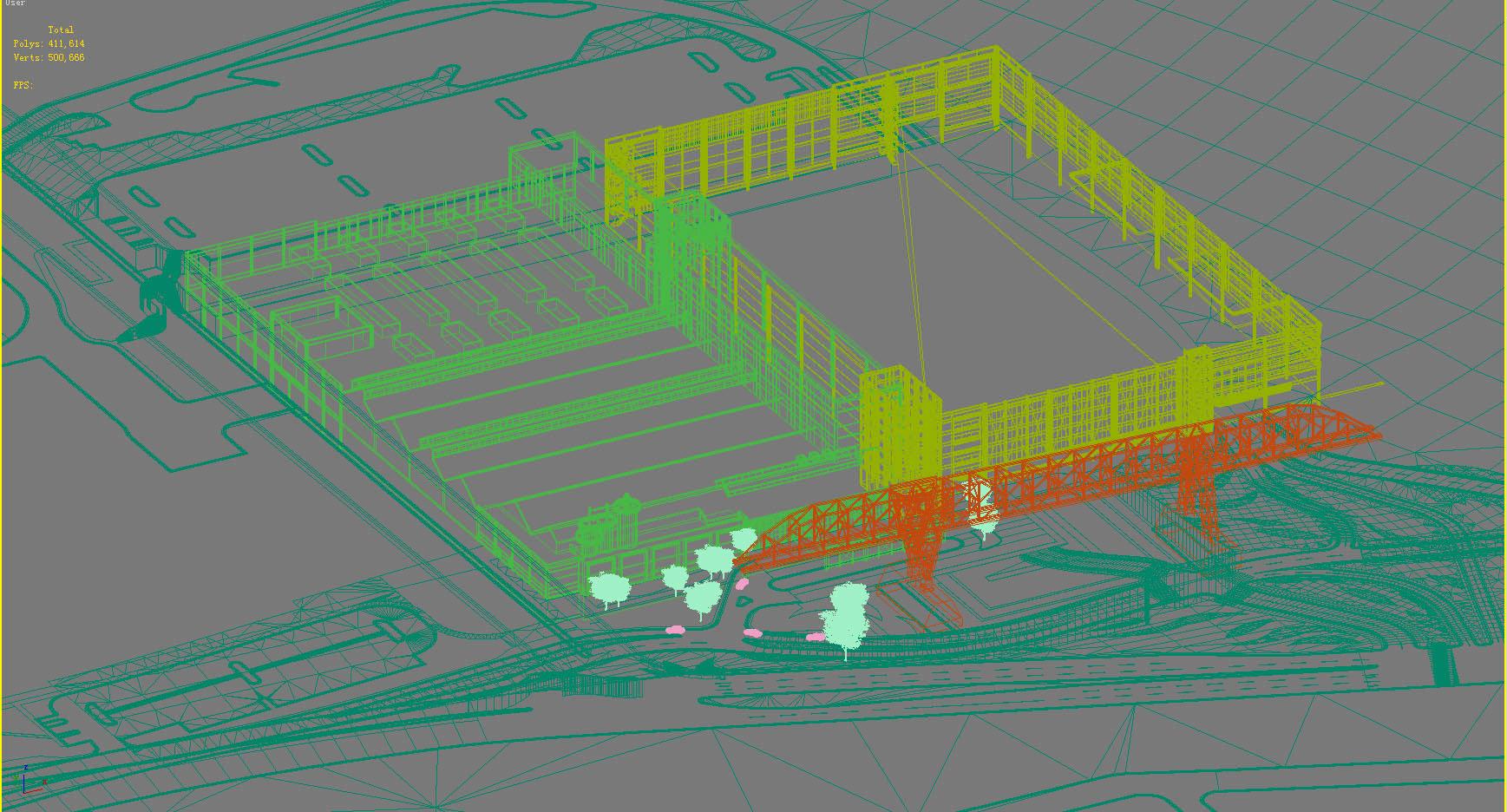 building 224 3d model max 126102