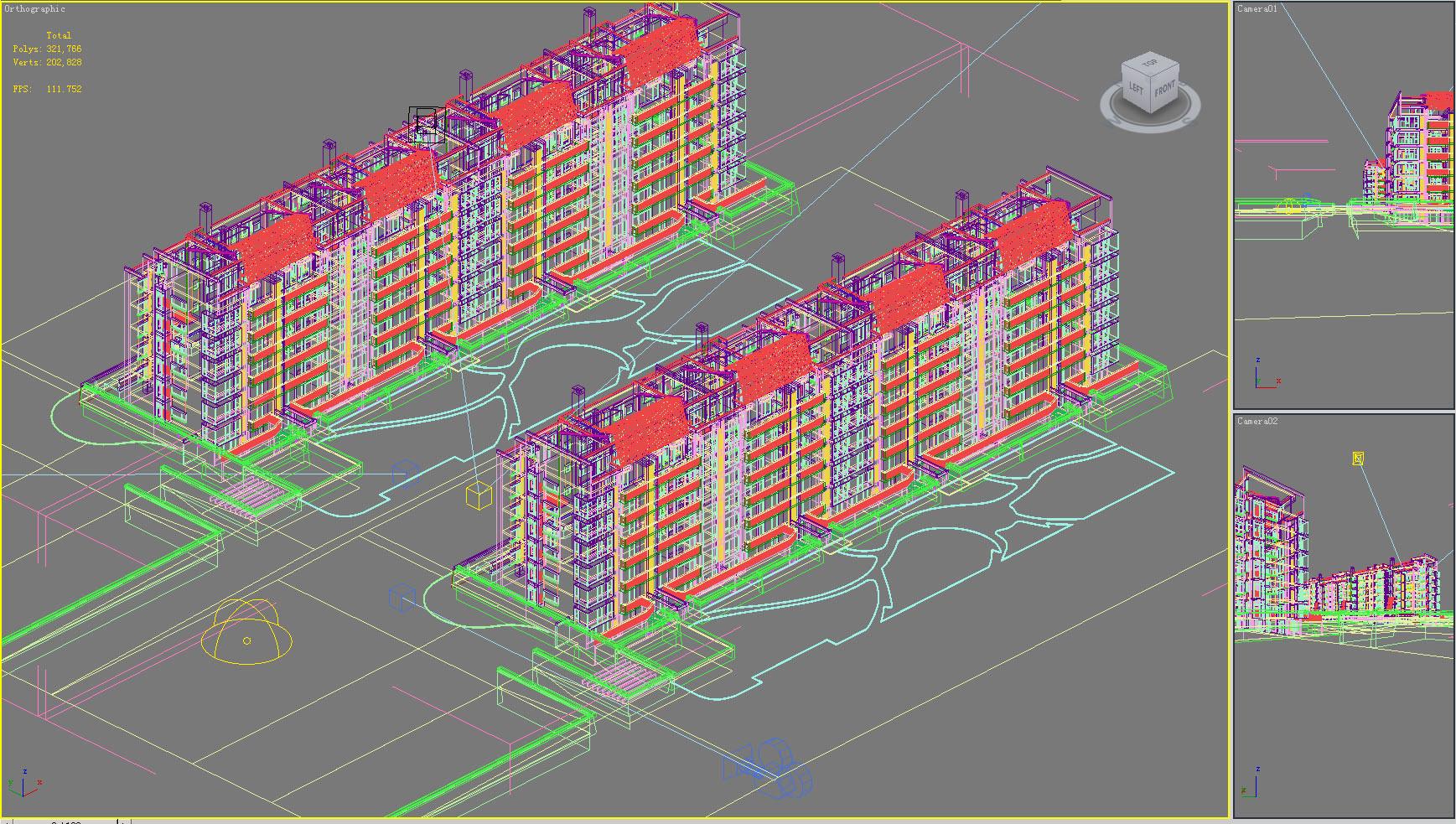 building 264 3d model max 127461
