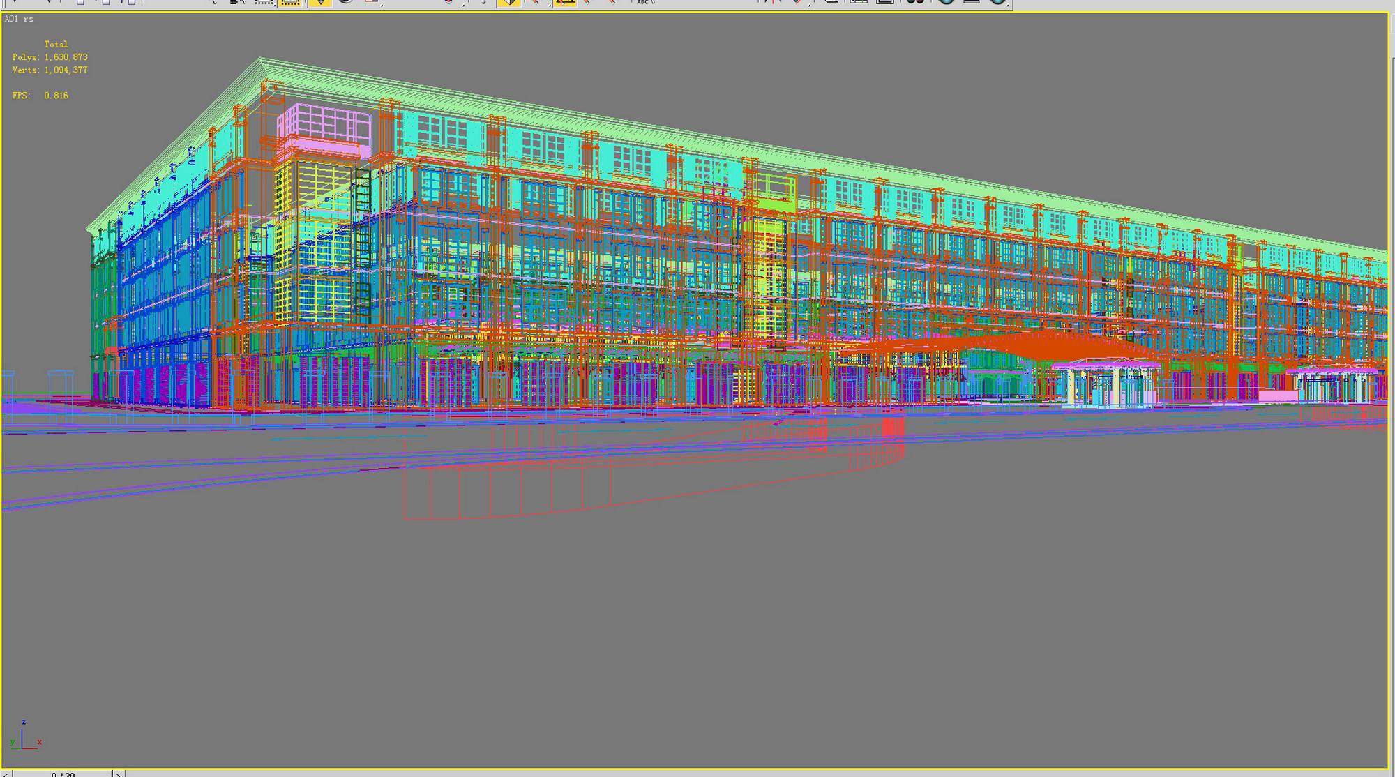 building 269 3d model max 127439