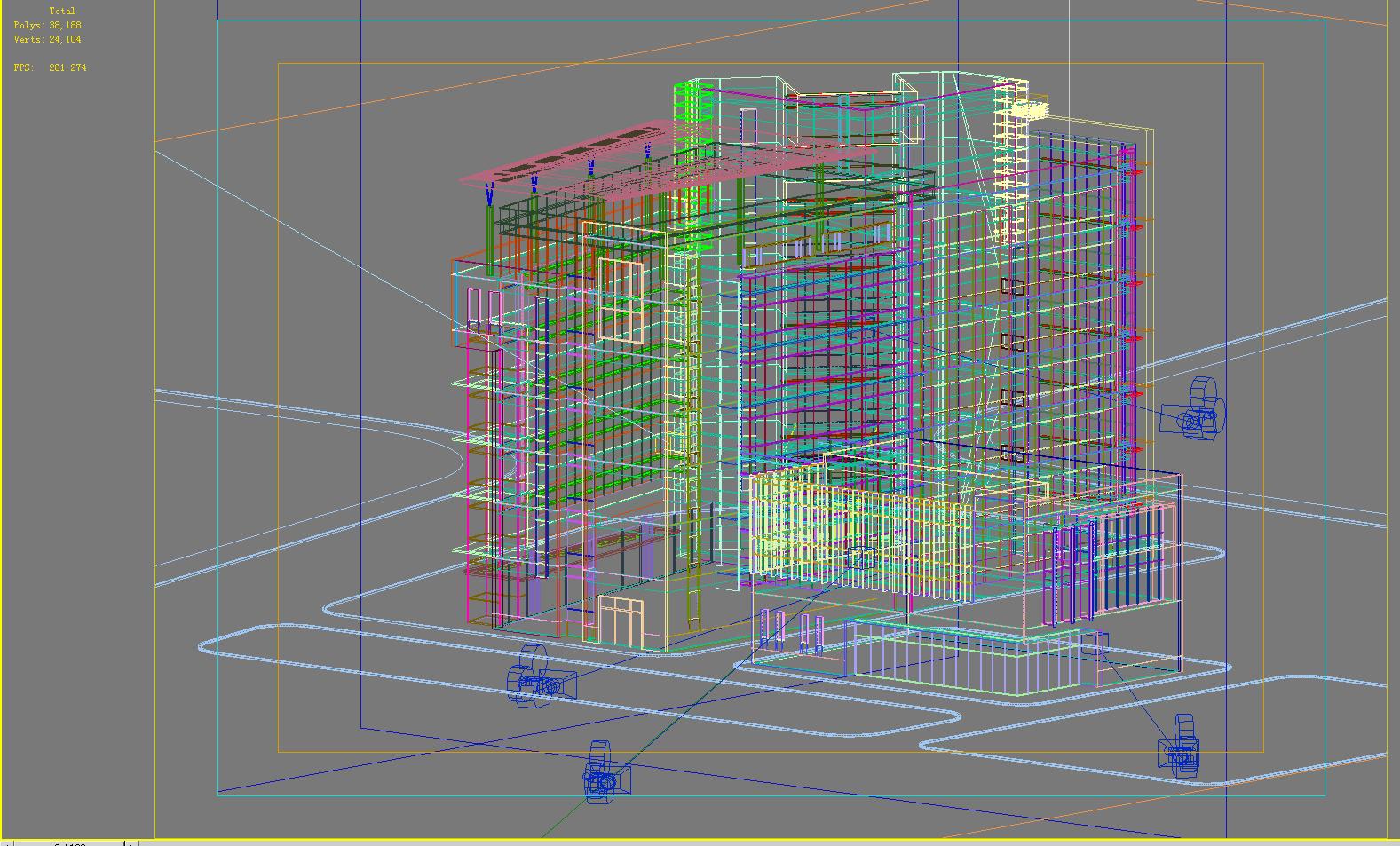 building 281 3d model max 127401