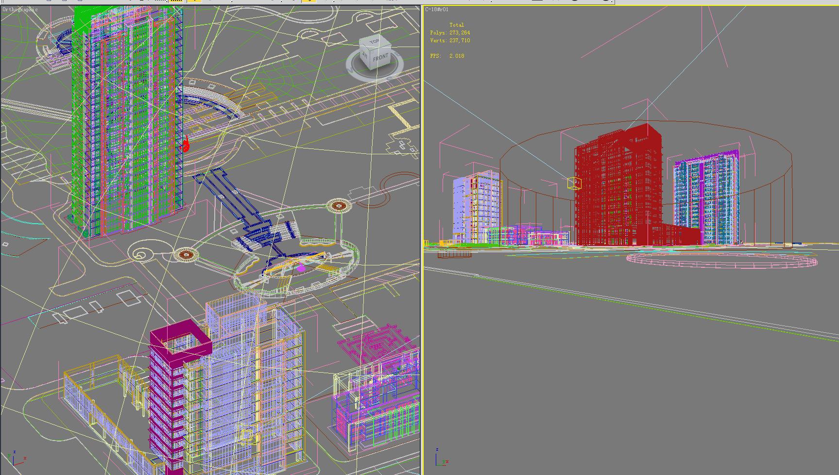 building 282 3d model max 127399