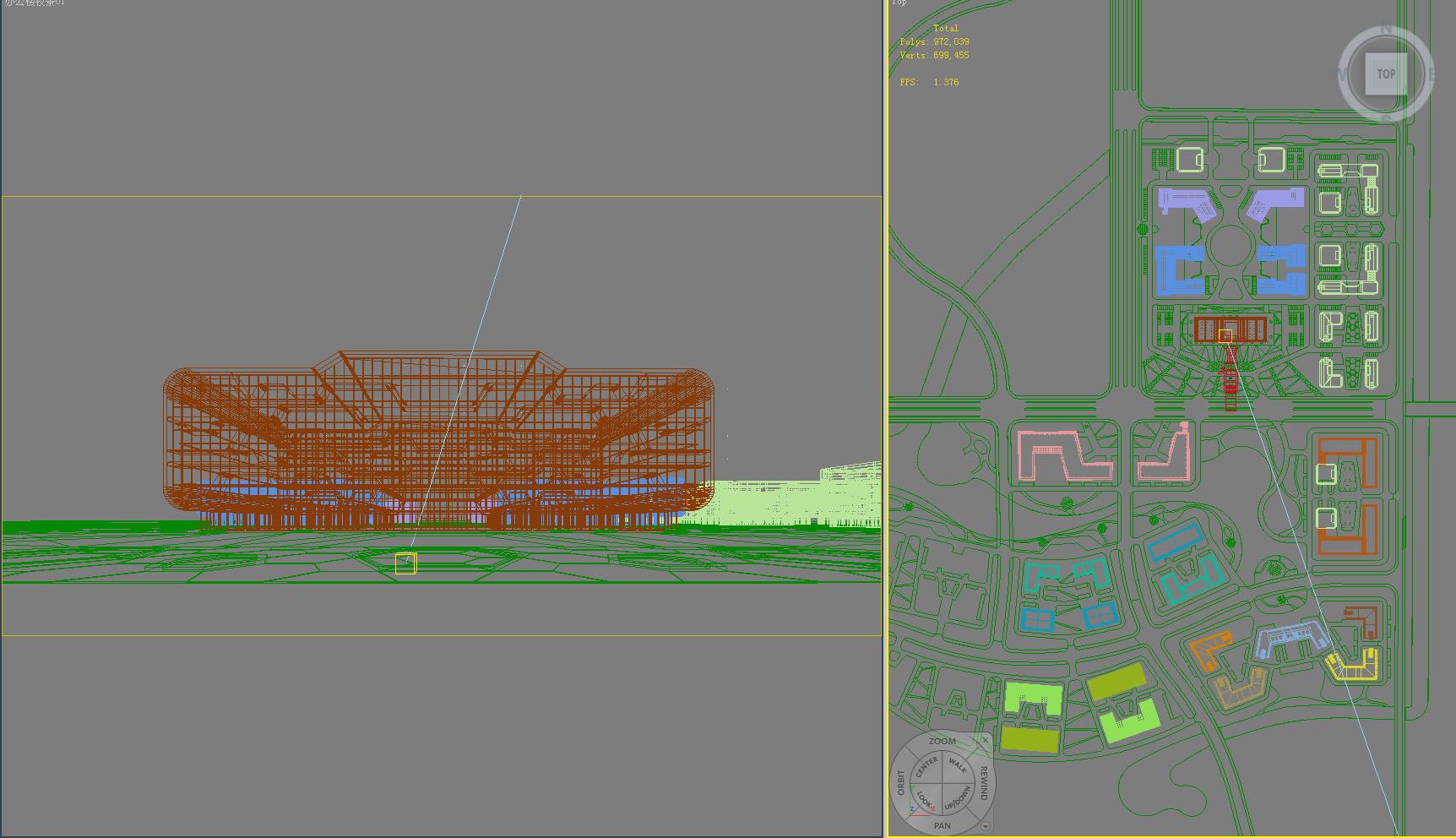 building 607 3d model max psd 126972